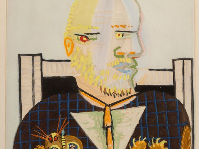 Vollard Suite by Pablo Picasso