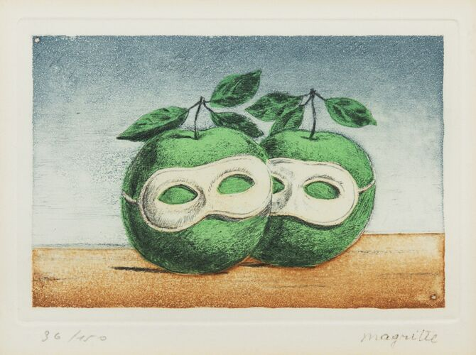 Apples by René Magritte