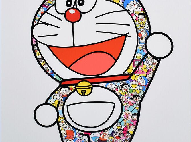 Doraemon by Takashi Murakami