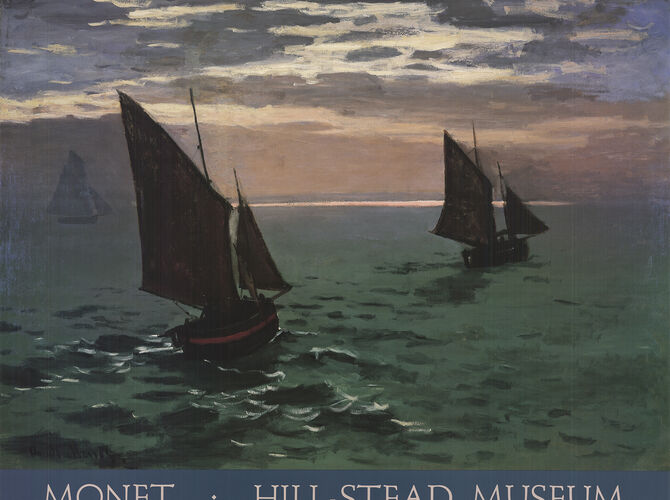 Boats by Claude Monet