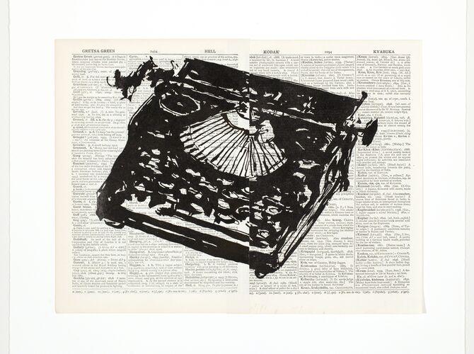 Typewriters by William Kentridge