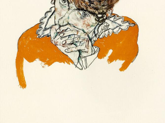 Hands by Egon Schiele