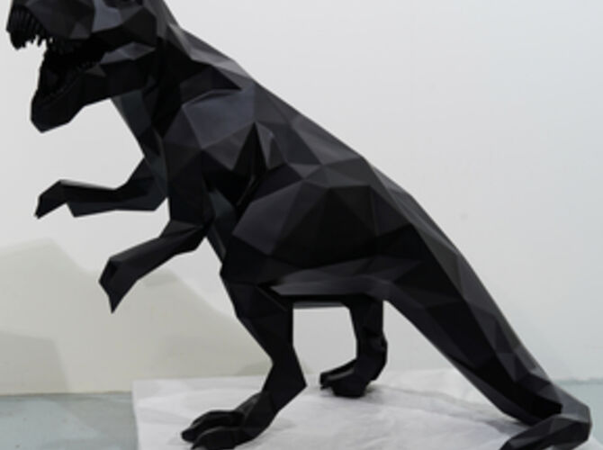 T-Rex by Richard Orlinski