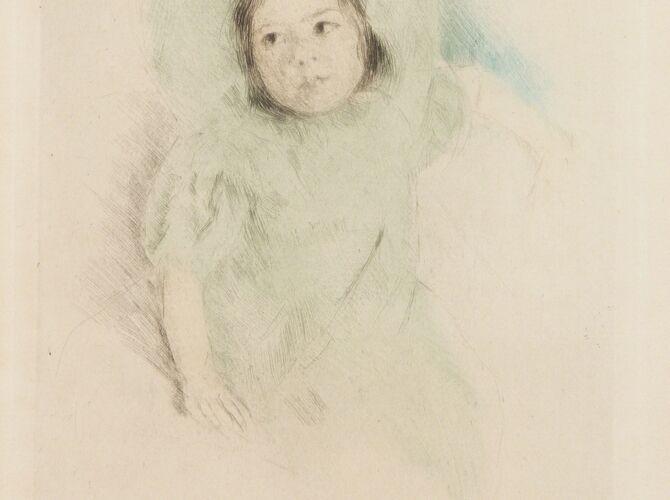 Margot by Mary Cassatt