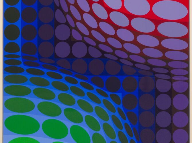 Vega by Victor Vasarely
