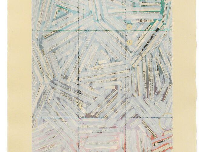 Crosshatch by Jasper Johns