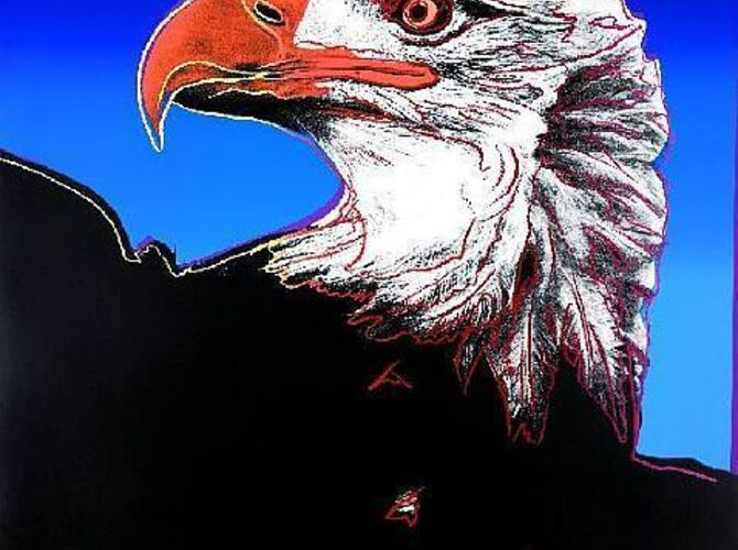 Bald Eagles by Andy Warhol