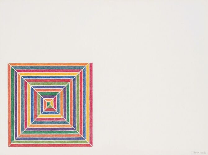 Squares by Frank Stella