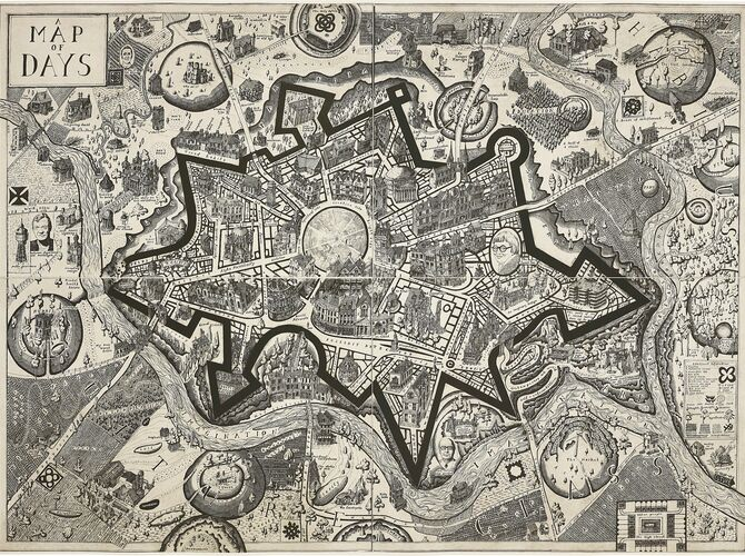Map of Days by Grayson Perry