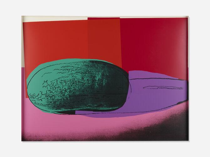Watermelon by Andy Warhol