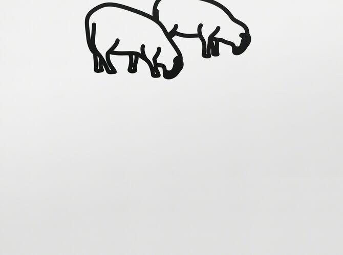 Sheep by Julian Opie