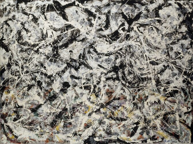 Action Paintings by Jackson Pollock