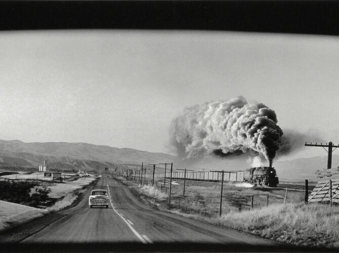 Wyoming by Elliott Erwitt