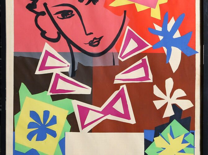 Paper Cut-Outs by Henri Matisse