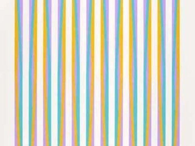 Stripes by Bridget Riley