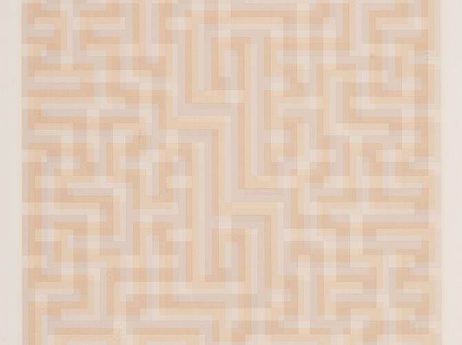Meander by Anni Albers