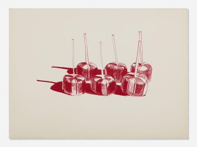 Lollipops by Wayne Thiebaud
