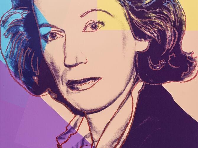 Mildred Scheel by Andy Warhol