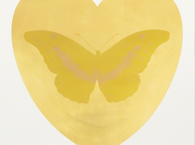 I Love You by Damien Hirst