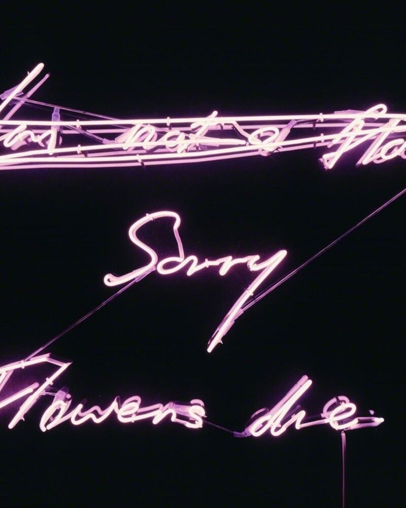 Tracey Emin Neons Light Up MOCA North Miami