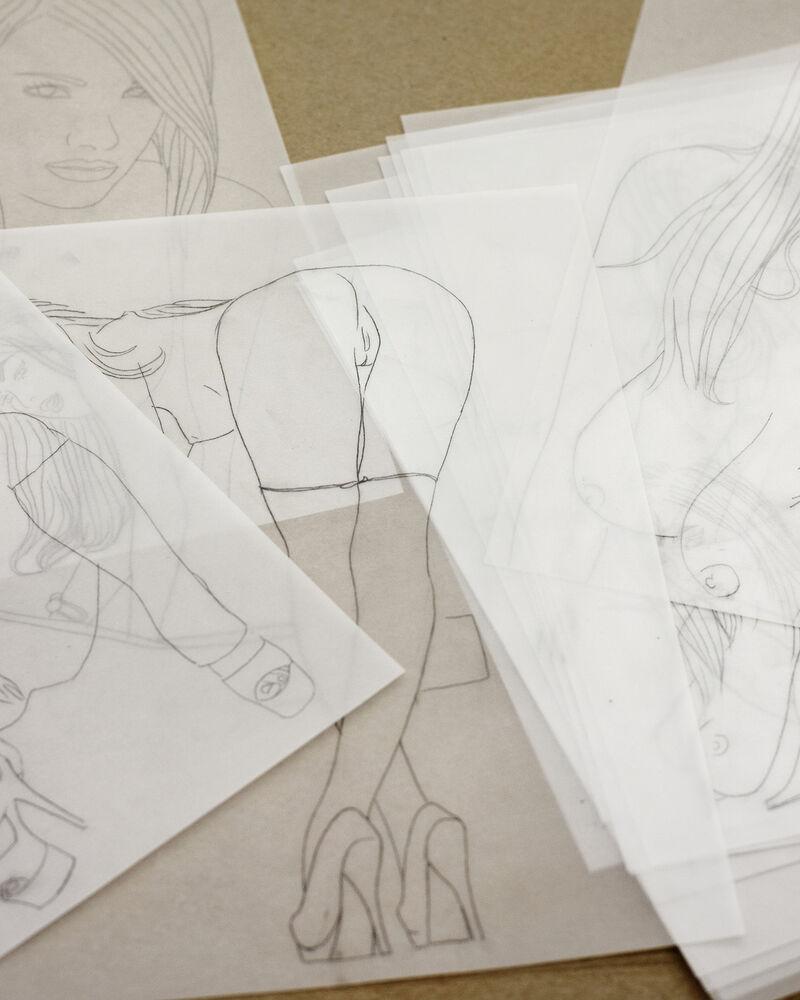 Source Materials and Preparatory Drawings