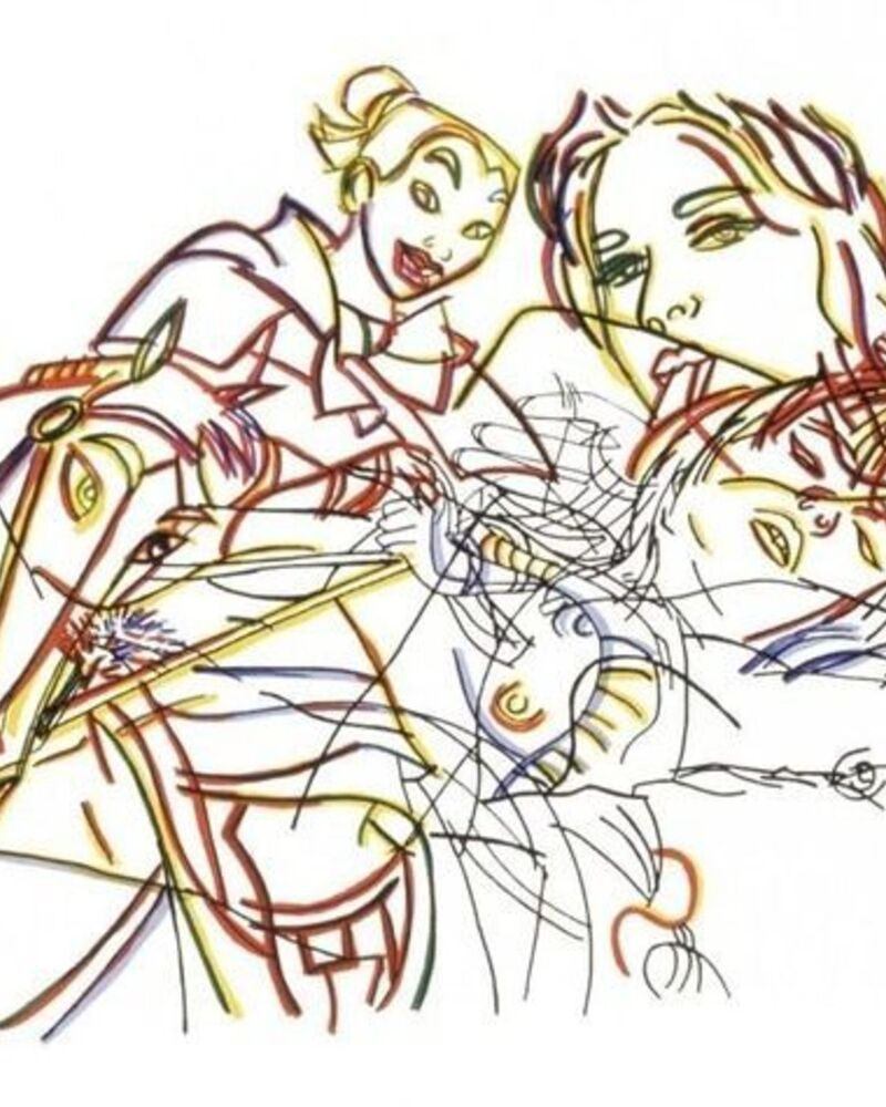 Why Collect a Ghada Amer?