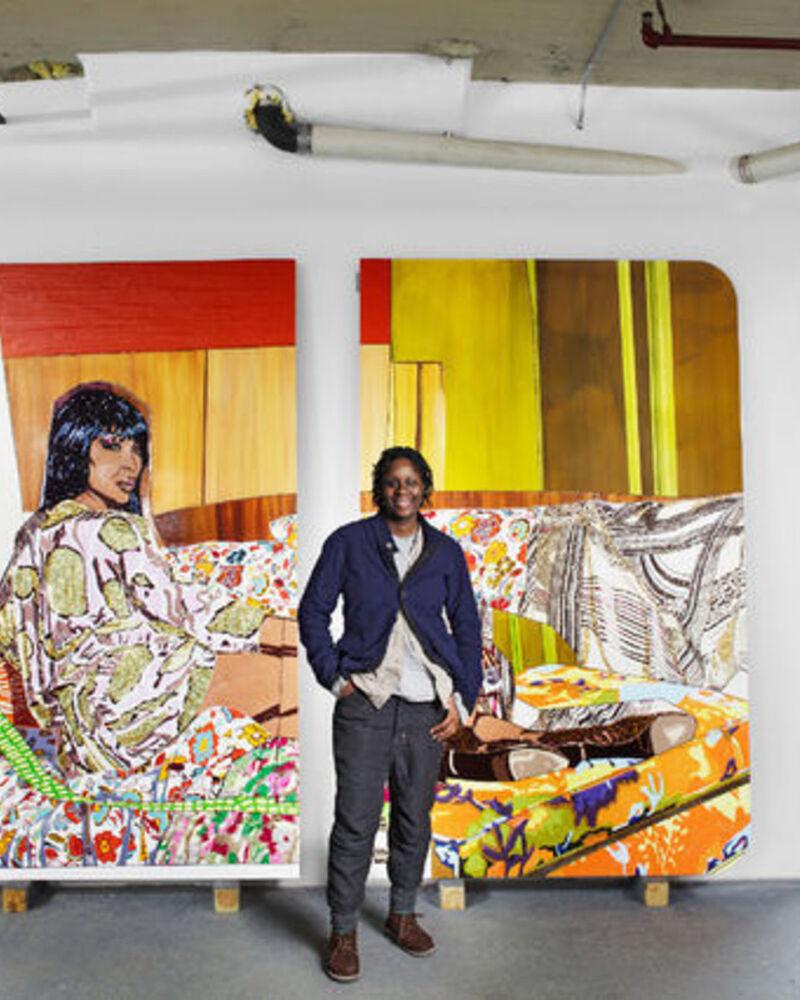 In the Studio: Mickalene Thomas
