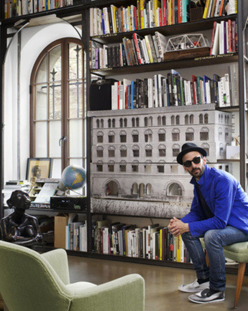 In the Studio: JR