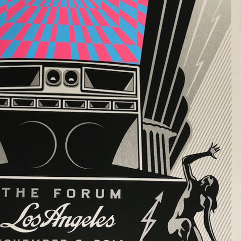 Shepard Fairey, 'The Black Key's Obey Giant Los Angeles', 2014, Print, Screen Print On Paper, New Union Gallery
