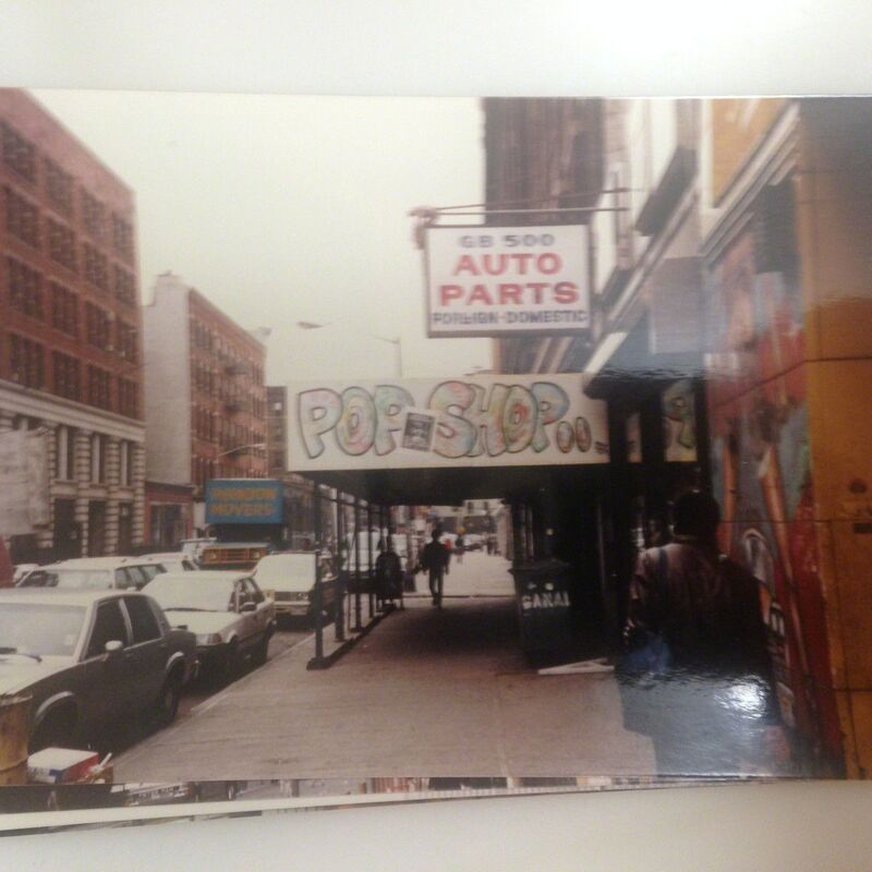 "Keith Haring, '""Three Eyed CONDOM Case"", POP Shop NYC, & 1980's POP Shop Photo', 1987, Ephemera or Merchandise, Plastic, meatal, VINCE fine arts/ephemera"