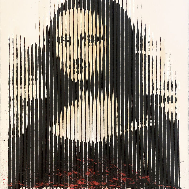 Mr. Brainwash, 'Mona Lisa Barcode', 2008, Print, Screenprint, Vanessa Villegas Art Advisory