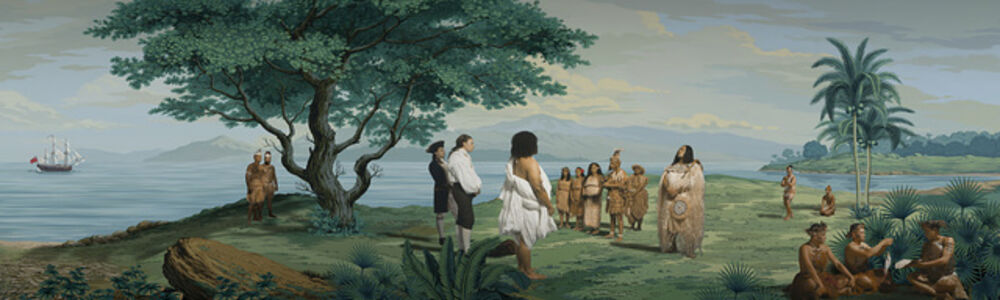 Tupaia's Ceremony / Turtle Boys / Arioi Sass (08325)