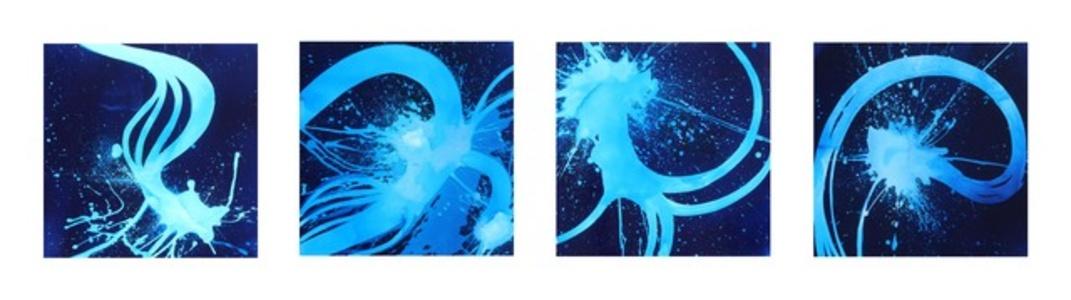 """Blue Time V, VI, VII, VIII"""