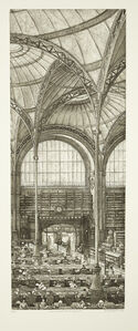 Salle labrouste, coté nord, fragment
