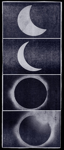 Eclipse Newspaper Blue