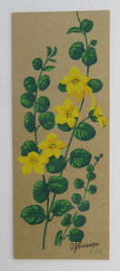 Floral study - Yellow flowers