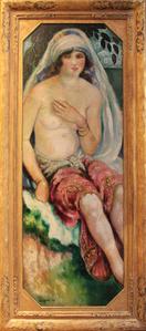 Femme au Buste Dénudé