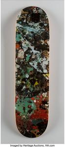 Jackson Pollock Skateboard Deck