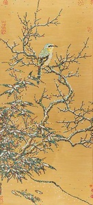 CMYK - The Southern Song Dynasty, Li Di, Bird on a Snow-covered Tree