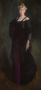 Woman in Black (Portrait of Mrs. Paul W. Bartlett)