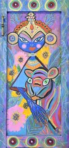 Goddess with Tiger