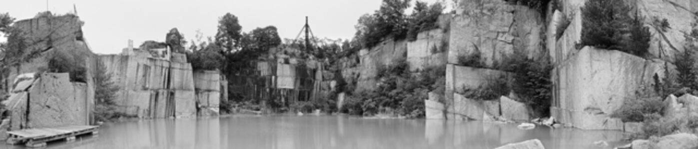Quarry Panorama 5 (Stony Creek, CT, Granite Quarry)