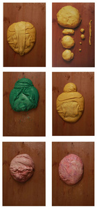 Color Study / Doughface (Group of 6)
