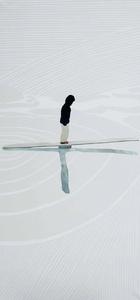 Girl Balancing