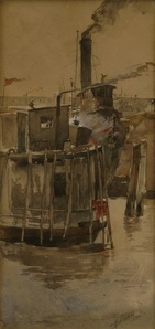 Tugboat, N.Y. Harbor