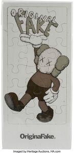 Original Fake Exhibition Invitations Puzzle