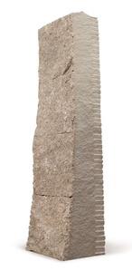 Zwischen Tür und Angel, Ein Stein in vier Teile gespalten