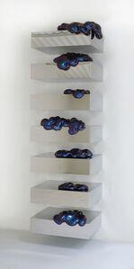 """""""Eternal Wow on Shelves"""" (cyan/purple)"""