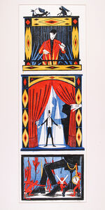 Puppet Theater (Triptych)