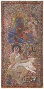 """Temple Altrarpiece """"Tibout Ceus St Louis Léogâne"""""""